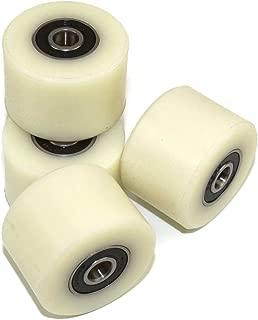 Polea Paquete Resistentes al Desgaste de pl/ástico de suspensi/ón de Ruedas NO LOGO KF-Wheels 10 * 50 * 16mm Teniendo V Groove Tipo de Nylon Pom Pom Rueda del balanceo