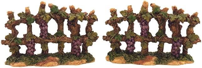 إكسسوارات قفص الحمل الإيطالي من Fontanini Grapevine Fences