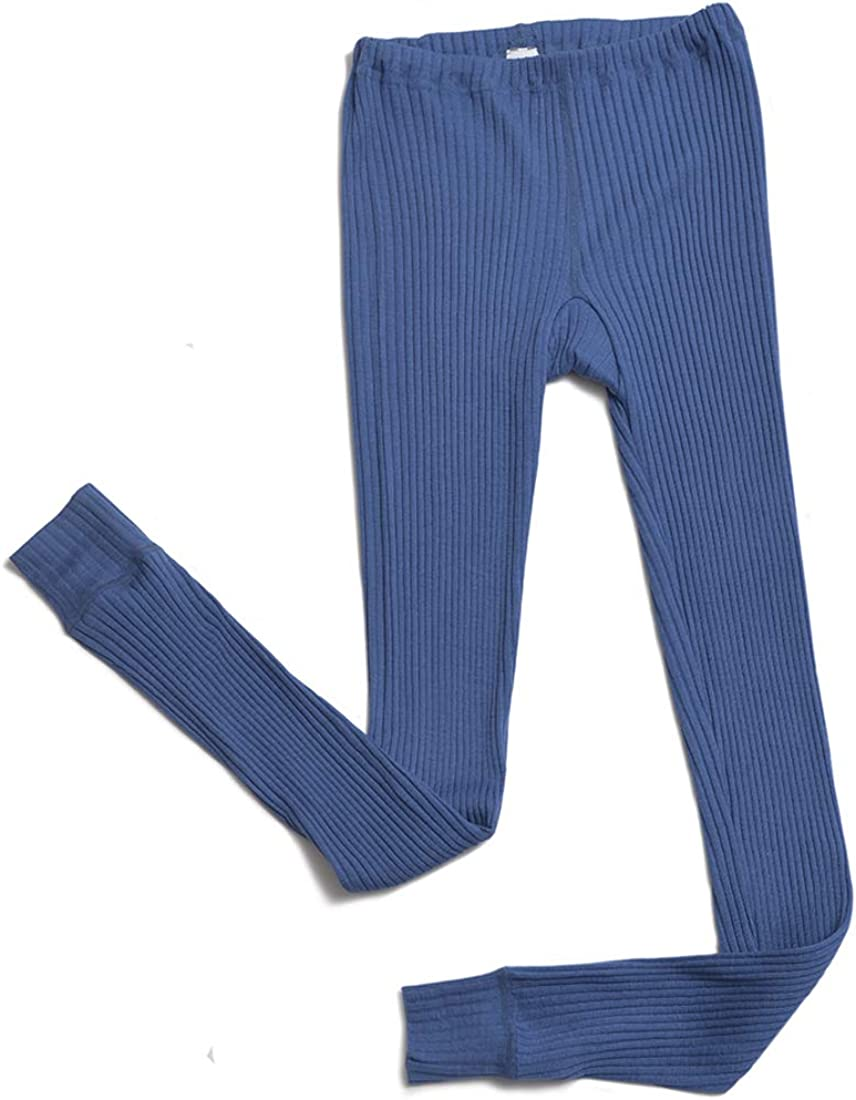 Hocosa Organic Wool Indefinitely Silk Max 49% OFF Long-Underwear Pants Women and for Men