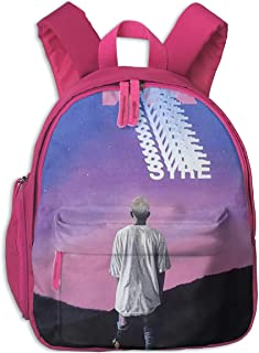 Reagan Syre Jaden Smith Kids Backpack Boys Girls,Appearance is Fashionable, Very Practical.