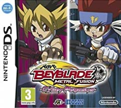 Third Party - Beyblade metal fusion : cyber pegasus sans toupie Occasion [DS] - 4012927083895