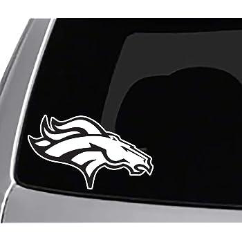 Denver Broncos 8x8 Die-Cut Decal AWM