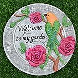 Escalones de césped para jardín al aire libre, adoquines de patio de villa, decoración de tablero de escalón de jardín, decoración de piso de dibujos animados en 3D, escalones de jardín, adoquines,J