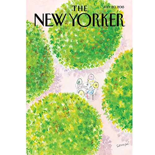 The New Yorker, July 20th 2015 (Dexter Filkins, Kathryn Schulz, Lawrence Wright) audiobook cover art