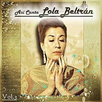 Así Canta Lola Beltrán, Vol. 3