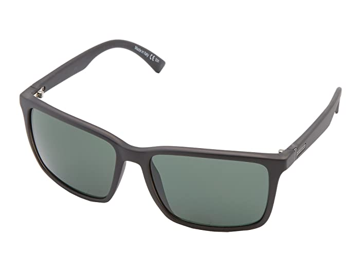 VonZipper Lesmore (Black/Satin Grey) Sport Sunglasses