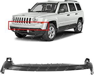 MBI AUTO - Primered, Front Upper Bumper Cover Fascia for 2011-2017 Jeep Patriot SUV 11-17, CH1014103