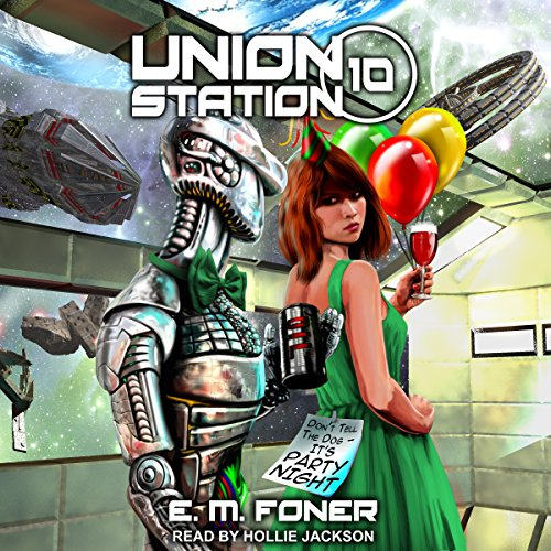 Party Night on Union Station audiobook cover art