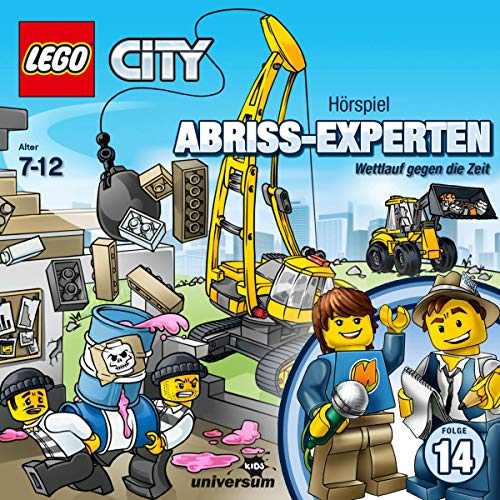 Abriss-Experten - Wettlauf gegen die Zeit     Lego City 14              Autor:                                                                                                                                 N.N.                               Sprecher:                                                                                                                                 Patrick Bach,                                                                                        Flemming Stein,                                                                                        Uwe Hügle,                   und andere                 Spieldauer: 46 Min.     Noch nicht bewertet     Gesamt 0,0