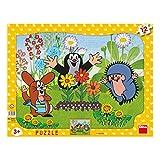 Dino Toys 303041 Little Mole - Puzzle con Marco