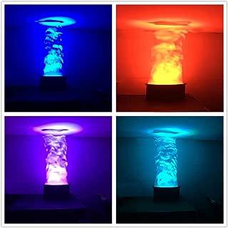 LED Flame Effect Machine 24x3w RGB 3in1 Stage Fake Fire Light 1.5m Silk DMX512 Remote Controller DJ Stage Professional Atmospheric DJ Club