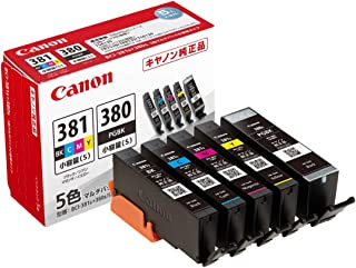 Canon 佳能 正品 墨盒 BCI-381(BK/C/M/Y)+380 5色组合装 小型容量型 BCI-381+380s/5MP