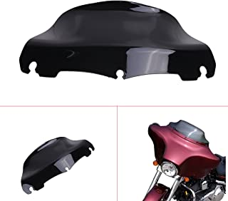 with AR2 abrasion resistant coating Harley Davidson 10 clear windshield for 2014-2019 Street Glide//Electra Glide//Ultra Classic//Tri-Glide made of superior quality Makrolan polycarbonate