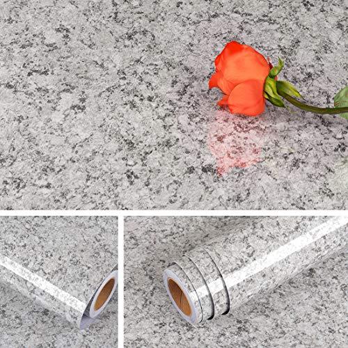 Livelynine Granite Countertop Contact Paper Waterproof Self Adhesive Marble...