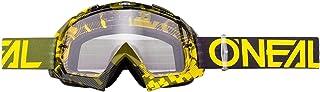 O'Neill Wetsuits 6024 300O   Oneal B 10 Pixel Clear Motocross Goggles Hi Viz Green