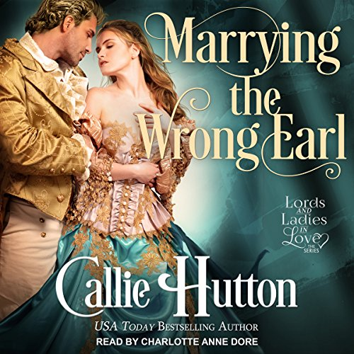 Marrying the Wrong Earl audiobook cover art