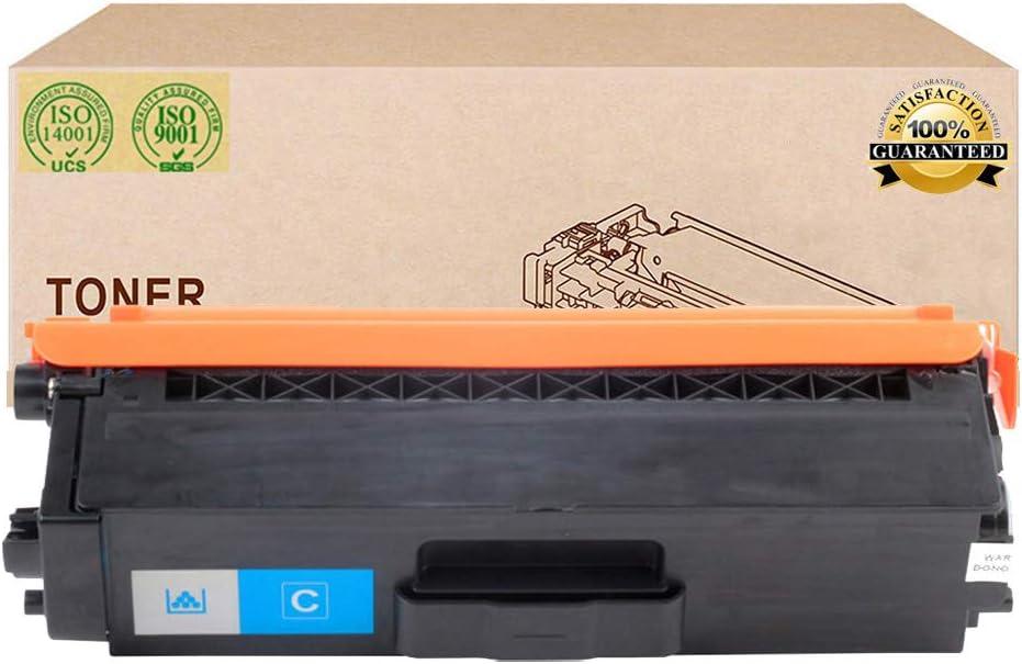 Compatible Toner Cartridges Replacement for Brother TN376 TN379 Toner Cartridge for Brother HL-L8250CDN L8350CDW L8350CDWT L8650CDW DCP-L8400CDN MFC-L8650CDW Printer Toner,Cyan