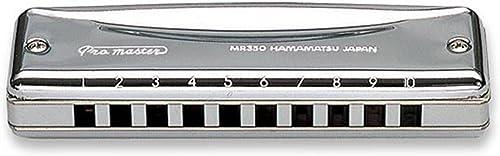 Suzuki MR350A Promaster Harmonica diatonique 10 Trous en la Chrome