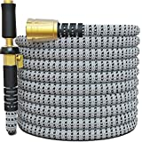 TITAN 150FT Garden Hose - All New Expandable Water Hose with Triple Latex Core 3/4' Easy Removal...