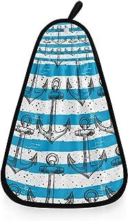 asciugamano da cucina con pratico occhiello per appenderlo MONTOJ Dream Asciugamano da bagno a forma di grande piuma