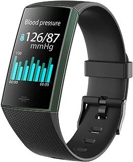Mmurong Smart Wristband Reloj Inteligente A Prueba De Agua Hombres Mujeres Pulsera Inteligente Pulsera Fitness Tracker Smartband para Android E iOS