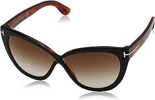 Tom Ford Arabella Cat Eye Sunglasses for Women - Brown Lens, FT0511-05G