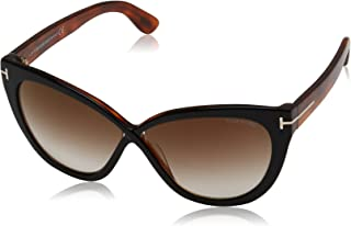 Sunglasses Tom Ford ARABELLA TF 511 FT 05G black/other / brown mirror