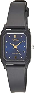 Casio Women's Blue Dial Resin Analog Watch - LQ-142E-2ADF