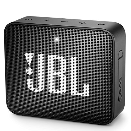 JBL GO2 - Waterproof Ultra Portable Bluetooth Speaker - Black