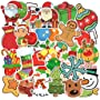 101Pcs Fashion Cool Christmas Santa Claus Waterproof Stickers for Water Bottles Laptop...
