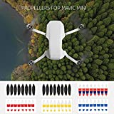 Walmeck- Hélice de liberación rápida de bajo Ruido 4726 Props para Mavic Mini FPV Drone Quadcopter 8pcs / Set