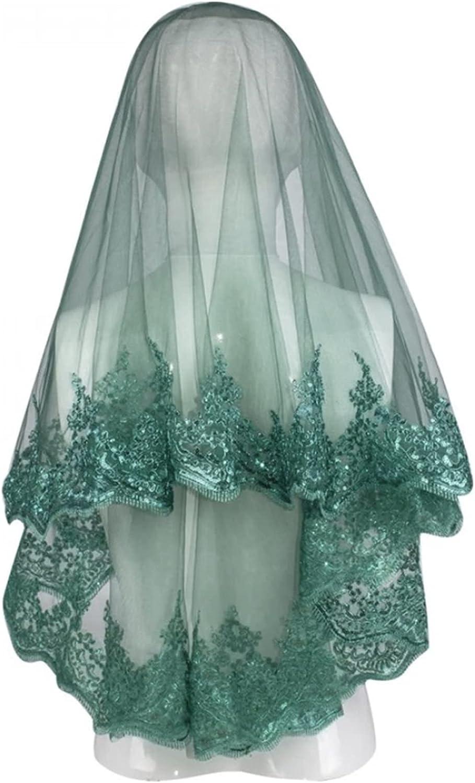 HAQTXI Short Bridal Veil Set Year-end annual account Quantity limited Accessory Ceremony Wi Wedding Night