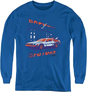 Back to The Future Youth Long Sleeve T Shirt