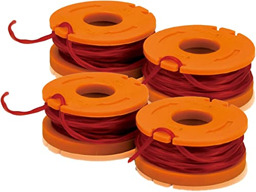 2021 Worx WA0004 Bundle of 2, 2 packs - 10foot Spool wholesale Replacement Trimmer new arrival Line online