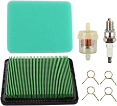 Fuel Li 17211-ZL8-003 Air Filter Tune Up Kit for Honda GCV160 GCV190 GC135 GCV135 GC160 GC190 GX100 Small Engine Replace 17211-ZE8-000 17211-ZL8-023