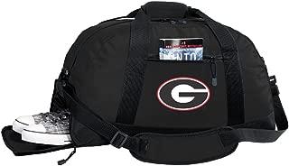 NCAA University of Georgia Duffel Bag - Georgia Bulldogs Gym Bags w/Shoe Pocket