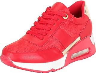 Cambridge Select Women's Retro 90s Ugly Dad Chunky Platform Wedge Fashion Sneaker