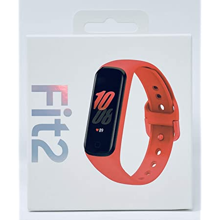 Samsung Galaxy Fit 2 Bluetooth Fitness Tracking Smart Band (Red)