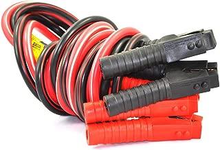 XINCOL A5 Ultra Duty Anti-frozon Ultra Aislamiento térmico 2500A 100% Cable Puente de Cobre Cable para camión de 24 V con Bolsa de Embalaje Longitud Modelo 4M