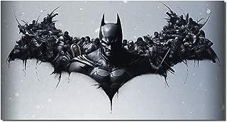 Picture Sensations® Framed Canvas Art Print, Batman DC Comics Super Hero, Joker Print, Batman Art, Batman Wall Canvas Art - 36