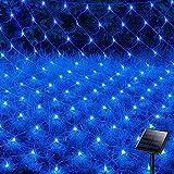 ADLOASHLOU 120LEDs Guirnaldas Neta Luz 1.5M X 2M, 8 Modes Impermeable de luz de...
