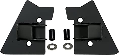 Rugged Ridge 11025.02 Black Mirror Relocation Bracket - Pair