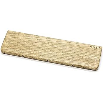 FILCO Genuine ウッドリストレスト Sサイズ〔幅300mm〕北海道産天然木使用 オスモカラー仕上げ 日本製 ブラウン FGWR/S