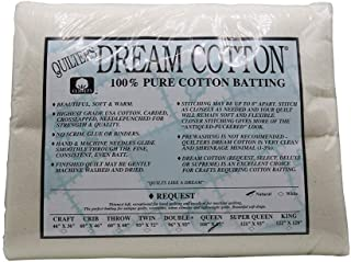 Quilter's Dream Natural Cotton Batting Request Loft Queen