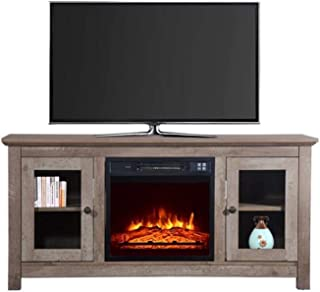 Simple Modern Family Living Room TV Cabinet Solid Wood Fireplace TV Cabinet Modern Coffee Table TV Cabinet Living Room TV ...