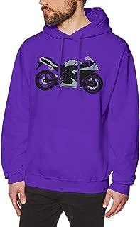 Yamaha R1 V3 Men's Long Sleeve Lightweight Hooded Sweatshirt