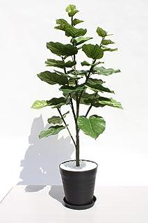 インテリアグリーン人工観葉植物、新ウンベラーター・光触媒製品受け皿付き