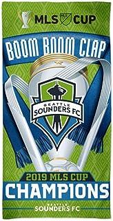 JPI MLS Soccer Columbus Crew Fiber Reactive Beach Towel 30x60 Inches