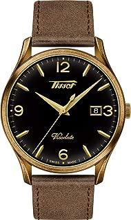 Tissot Men's Heritage Visodate - T1184103605700 Brown/Gold One Size