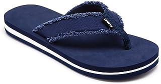 DWG Men's Soft Flip-Flops Sandals Light Weight Shock Proof Slippers